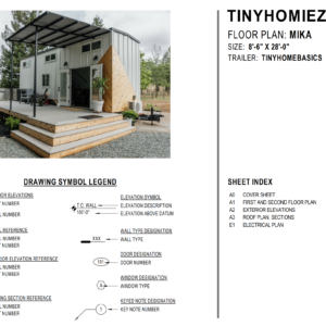 The Mika Tiny Home Plan